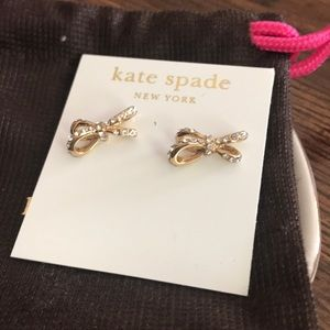 Kate Spade now post earrings